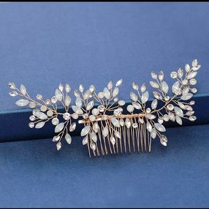 NEW - Bridal Hair Accessories- Gold
